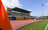 20200304  Parchal , Portugal : illustration picture showing the Complexo Desportivo Belavista stadion during the female football game between the national teams of New Zealand , known as the Football Ferns and Belgium called the Red Flames on the first matchday of the Algarve Cup 2020 , a prestigious friendly womensoccer tournament in Portugal , on wednesday 4 th March 2020 in Parchal , Portugal . PHOTO SPORTPIX.BE | DAVID CATRY