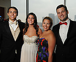 From left: Michael Trevino, April White, Mari Trevino and Bryan Glass at the Memorial Hermann Circle of Life Gala at the Hilton Americas Hotel Saturday April 11, 2015.(Dave Rossman photo)