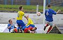 Morton's Archie Campbell scores Morton's third goal   ...