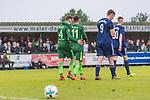 17.05.2018, Stadion am Auetal, Ahlerstedt, GER, FSP, Auswahl Ahlerstedt / Ottendorf vs SV Werder Bremen<br /> <br /> im Bild<br /> Robert Bauer (Werder Bremen #04) und Milot Rashica (Werder Bremen #11) bejubeln 3:8 durch Rashica, <br /> <br /> Foto &copy; nordphoto / Ewert