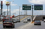 Traffic signs in Matamoros Mexico are more common then a McDonalds. Some seasonal workers from the Tampa area call this city home.