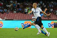 Gol di Dries Mertens Napoli goal celebration<br /> Napoli 27-08-2017  Stadio San Paolo <br /> Football Campionato Serie A 2017/2018 <br /> Napoli - Atalanta<br /> Foto Cesare Purini / Insidefoto