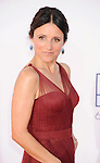 LOS ANGELES, CA - SEPTEMBER 23: Julia Louis-Dreyfus arrives at the 64th Primetime Emmy Awards at Nokia Theatre L.A. Live on September 23, 2012 in Los Angeles, California.