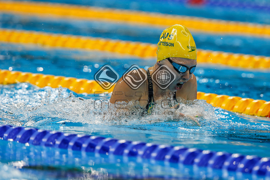 Lakeisha Patterson competes in the Womens 200m Individual Medley final -SM8 on day 10 at the Olympic Aquatics Stadium.<br /> 2016 Paralympic Games - RIO Brazil<br /> Australian Paralympic Committee<br /> Saturday 17th September 2016<br /> &copy; Sport the library / Drew Chislett