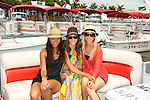 All My Children Denise Vasi, Christina Lind, Stephanie Gatschet - Celebrities take a break and enjoy themselves on the pontoon boat - SWSL Soapfest Charity Weekend May 14 & 15, 2011 benefitting several children's charities including the Eimerman Center providing educational & outfeach services for children for autism. see www.autismspeaks.org. (Photo by Sue Coflin/Max Photos)