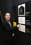 Curator Doug Reside at Curtain Up: Celebrating the Last 40 Years of Theatre in New York and London Exhibition on June 14, 2017 at the New York Public Library for the Performing Arts at Lincoln Center.