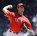 Yu Darvish (Rangers),<br /> JUNE 30, 2013 - MLB :<br /> Yu Darvish of the Texas Rangers pitches during the Major League Baseball game against the Cincinnati Reds at Rangers Ballpark in Arlington in Arlington, Texas, United States. (Photo by AFLO)