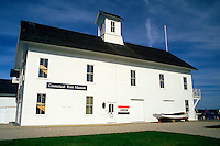 The exterior of the Connecticut River Museum. Connecticut.