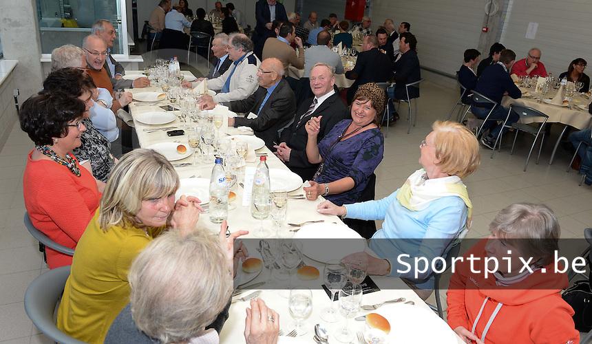 KM Torhout - FC Izegem :<br /> <br /> VIP Diner voor aanvang van de wedstrijd<br /> <br /> foto VDB / BART VANDENBROUCKE