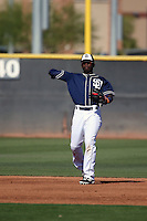 Ruddy Giron - San Diego Padres 2016 spring training (Bill Mitchell)
