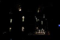 L'interno della Basilica di San Pietro
