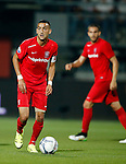 Nederland, Almelo, 29 augustus 2015<br /> Eredivisie<br /> Seizoen 2015-2016<br /> Heracles Almelo-FC Twente<br /> Hakim Ziyech, aanvoerder van FC Twente
