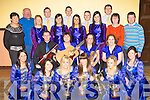 Glenflesk figure dancers, Instrumental musicians and Set Dancers who all won their sections at the Munster Scor finals in Cappoquin, Waterford on Saturday front row l-r: Joanne Cashman, Lisa Cronin, Cait O'Sullivan, Niamh Favier. Middle row: Angela McCarthy, Padraig Creedon, Mary O'Callaghan, Martina O'Neill, Roisie Healy, Mairead Cashman. Back row: Norrie Sheehan, Denis O'Sullivan, Joanne O'Donoghue, Padraig O'Sullivan, Jennifer McCarthy, Michea?l McGillicuddy, Danniellie Favier, Noel O'Donoghue, Linda McCarthy, Eugene Bowler, Margaret Creedon and John Culloty
