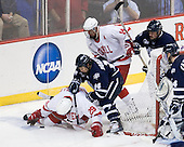 Dan Nicholls (Cornell - 29), Mike Borisenok (UNH - 14), Riley Nash (Cornell - 14), Damon Kipp (UNH - 4) - The University of New Hampshire Wildcats defeated the Cornell University Big Red 6-2 (EN) on Friday, March 26, 2010, in their NCAA East Regional semi-final at the Times Union Center in Albany, New York.