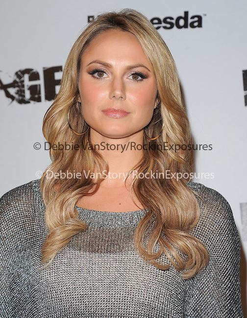 Stacy Keibler  attends the official launch party for the most anticipated video game of the year RAGE in ChinaTown in Los Angeles, California on September 30,2011                                                                               © 2011 Hollywood Press Agency