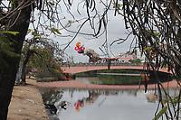 Recife (PE), 19/02/2020 - Carnaval-Recife - Montagem do Galo da Madrugada nesta quarta-feira (19) na Ponte Duarte Coelho em Recife. (Foto: Pedro De Paula/Codigo 19/Codigo 19)