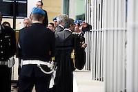 Roma,9 Dicembre 2015<br /> Aula bunker di Rebibbia<br /> Nuova udienza del processo Mafia Capitale, in Aula la discussione sulle perizie riguardo le intercettazioni.