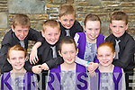 Kilcummin competitors at the Comhaltas Irish dancing competiton in the Killarney Heights Hotel on Sunday front row l-r:Rachel Leane, Niamh O'Donovan, Shauna O'Leary. Back row: Danny Cronin, William Brosnan, Dylan Murphy, Mary Murphy and Nathan Counihan ..