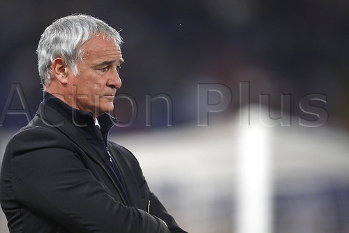 25th April 2010: Claudio Ranieri during the match for the Italian Serie A Soccer Roma v.Sampdoria at the Olympic Satadium Rome,