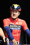 Heinrich Haussler (AUS) Bahrain-Merida at sign on before the 2019 E3 Harelbeke Binck Bank Classic 2019 running 203.9km from Harelbeke to Harelbeke, Belgium. 29th March 2019.<br /> Picture: Eoin Clarke | Cyclefile<br /> <br /> All photos usage must carry mandatory copyright credit (© Cyclefile | Eoin Clarke)