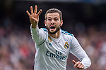 Nacho Fernandez of Real Madrid runs for celebrating his score during the La Liga 2017-18 match between Real Madrid and Sevilla FC at Santiago Bernabeu Stadium on 09 December 2017 in Madrid, Spain. Photo by Diego Souto / Power Sport Images6