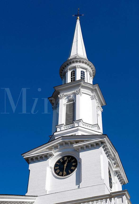 Unitarian Church across from Battle Green, Lexington, MA
