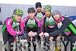 Killarney riders taking part in the Lacey Cup Cycle on Sunday were l-r: John Crowley John Mannix Michael Murphy, Matt Slattery and Keith Curtin.