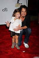WWW.ACEPIXS.COM . . . . .....September 5, 2008. New York City.....Singer Chris Cornell and his daughter arrive at the 5th Annual Fashion Rocks held at Radio City Music Hall on September 5, 2008 in New York City...  ....Please byline: Kristin Callahan - ACEPIXS.COM..... *** ***..Ace Pictures, Inc:  ..Philip Vaughan (646) 769 0430..e-mail: info@acepixs.com..web: http://www.acepixs.com