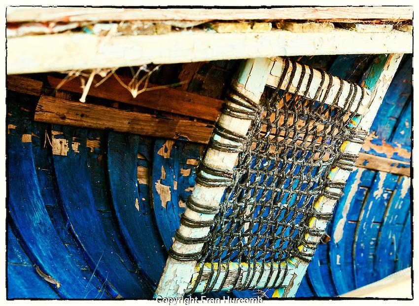 old canoe seat