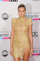 LOS ANGELES, CA - NOVEMBER 18: Heidi Klum at The 40th Annual American Music Awards at The Nokia Theater LA Live, in Los Angeles, California. November 18, 2012. Photo by: mpi99/MediaPunch Inc. NortePhoto