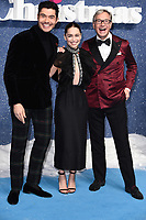 """Henry Golding, Emelia Clarke and Paul Feig<br /> arriving for the """"Last Christmas"""" Premiere at the BFI Southbank, London.<br /> <br /> ©Ash Knotek  D3531 11/11/2019"""