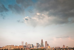 This is a photo of the Charlotte NC skyline. I was out getting some photos of the Charlotte skyline and the best clouds were in the sky. I recomposed to have mostly sky ans this turned out to be a more artsy skyline photo.