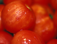 Peeled tomatoes for sauce.