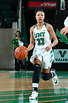 DENTON, JANUARY 11 : Mean Green Women's Basketball v Old Dominion at Super Pit - North Texas Coliseum January 11, 2018 in Denton, Texas. (Photo/ Rick Yeatts)