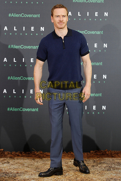 MADRID, SPAIN-May 08: Michael Fassbender attends the Alien Covenant photocall at the Villamagna Hotel in Madrid, Spain. May08, 2017. <br /> CAP/MPI/JOL<br /> &copy;JOL/MPI/Capital Pictures