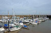Marina at Watchet, Somerset.