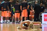 Cheerleader durante un tiempo muerto. 09  Octubre 2011. Palacio de los Deportes...Photo: Marcos / ALFAQUI