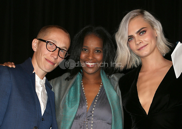 BEVERLY HILLS, CA - April 07: Cara Delevingne, Guests, At 4th Annual unite4:humanity Gala_Inside At Madame Tussauds  In California on April 07, 2017. Credit: FS/MediaPunch
