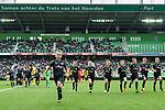 10-09-17 , Fc Groningen - VVV. Line up.