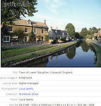 Lower Slaughter , cotswold , Gloucestershire, england ,