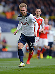 Christian Eriksen of Tottenham Hotspur during the English Premier League match at the White Hart Lane Stadium, London. Picture date: April 30th, 2017.Pic credit should read: Robin Parker/Sportimage