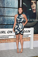 Samantha Murray<br /> at the premiere of &quot;The Girl on the Train&quot;, Odeon Leicester Square, London.<br /> <br /> <br /> &copy;Ash Knotek  D3156  20/09/2016