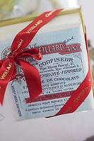 Europe/France/Auvergne/63/Puy de Dome/Clermont-Ferrand:  Chocolaterie: Vieillard, Boite de chocolats