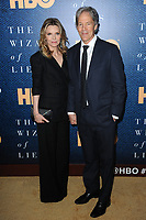 www.acepixs.com<br /> May 11, 2017  New York City<br /> <br /> Michelle Pfeiffer and David Kelley attending the 'The Wizard Of Lies' New York Premiere at The Museum of Modern Art on May 11, 2017 in New York City. <br /> <br /> Credit: Kristin Callahan/ACE Pictures<br /> <br /> <br /> Tel: 646 769 0430<br /> Email: info@acepixs.com