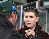 Former Boston College Eagle and Babson champion Corey Griffin - The Norwich University Cadets defeated the Babson College Beavers 1-0 on Thursday, January 9, 2014, at Fenway Park in Boston, Massachusetts.