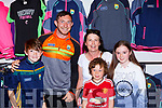 Colin O'Neill, Theresa Sean and Killian Walsh Kilcummin met Daithi Casey at the Kerry launch on Saturday