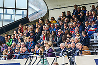 London Scottish fans during the Greene King IPA Championship match between London Scottish Football Club and Doncaster Knights at Richmond Athletic Ground, Richmond, United Kingdom on 30 September 2017. Photo by Jason Brown / PRiME Media Images.