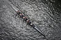 Four Woman Crew Races, Team Rowing, Windermere Cup 2017, Mountlake Cut, Lake Washington, Seattle, WA, USA.
