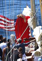 Cameron Diaz shoots for Vogue aboard a boat - Saint Barts
