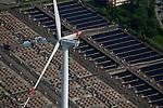 DEUTSCHLAND Hamburg Nordex Windraeder des staedtischen Energieversorger Hamburg Energie auf dem Gelaende des Klaerwerk Dradenau von Hamburg Wasser<br />   /<br /> GERMANY Hamburg , Nordex wind turbine at water treatment plant of Hamburg Water